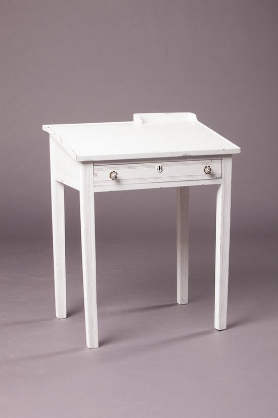 Small Desk With Drawer Whitevan