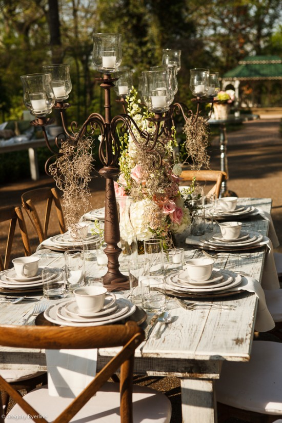 Farm Table 8 White Wash 171 Southern Events Party Rental