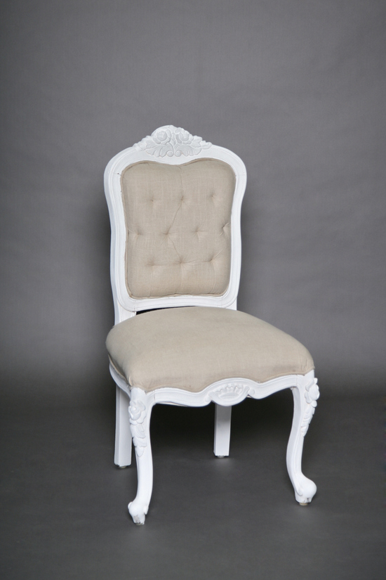 ... Pearlie Vintage Chair Cream And Ivory Tufted Vintage Chair Southern Events Nashville 2  ...
